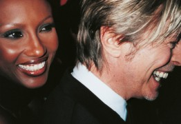 Iman & David Bowie, New York 2002